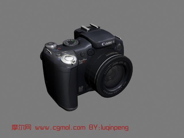 佳能cam,照相机3d模型