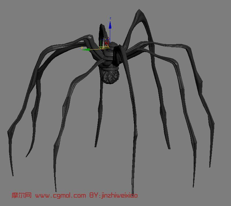 蜘蛛等动物3d素描