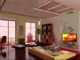 高精度室内客厅场景模型