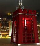 烽火台电话亭,室外场景max3d模型
