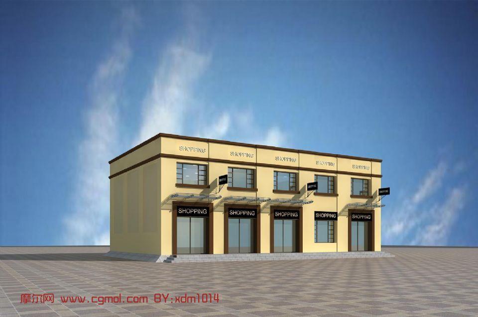 中式二层楼房图片大全-仿古二层楼房图片|中式楼房外观效果图|农村二