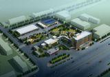厂区鸟瞰,建筑,室外场景max3d模型