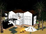 浪漫满屋,建筑,室外场景maya3d模型