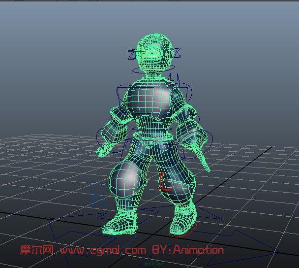 机器人,机械角色maya3d模型