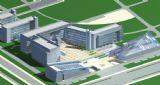 现代化城市建筑鸟瞰图3D模型