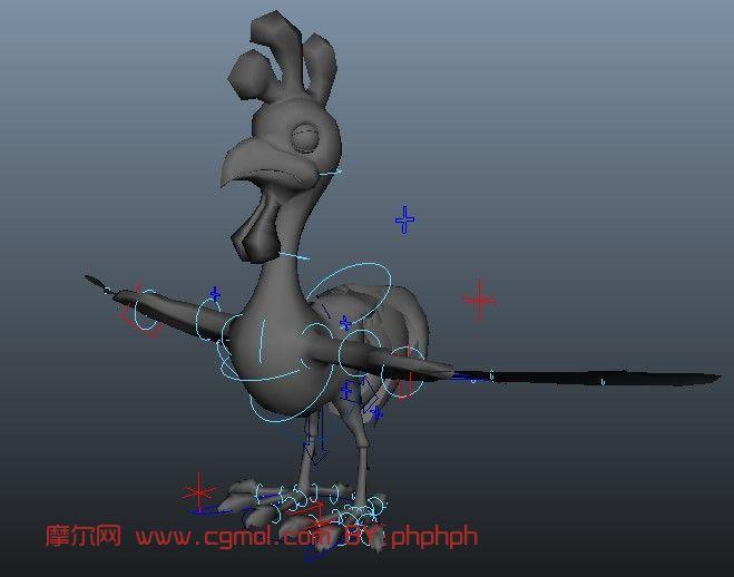 动物模型 飞禽动物  关键词:鸡动物骨骼绑定maya 作品描述: 上一个