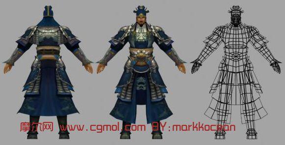 75m 材质/贴图: 有 关键词:徐晃 游戏人物 模型描述:学习学习 2 colle