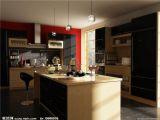 现代厨房,室内场景maya3d的模型