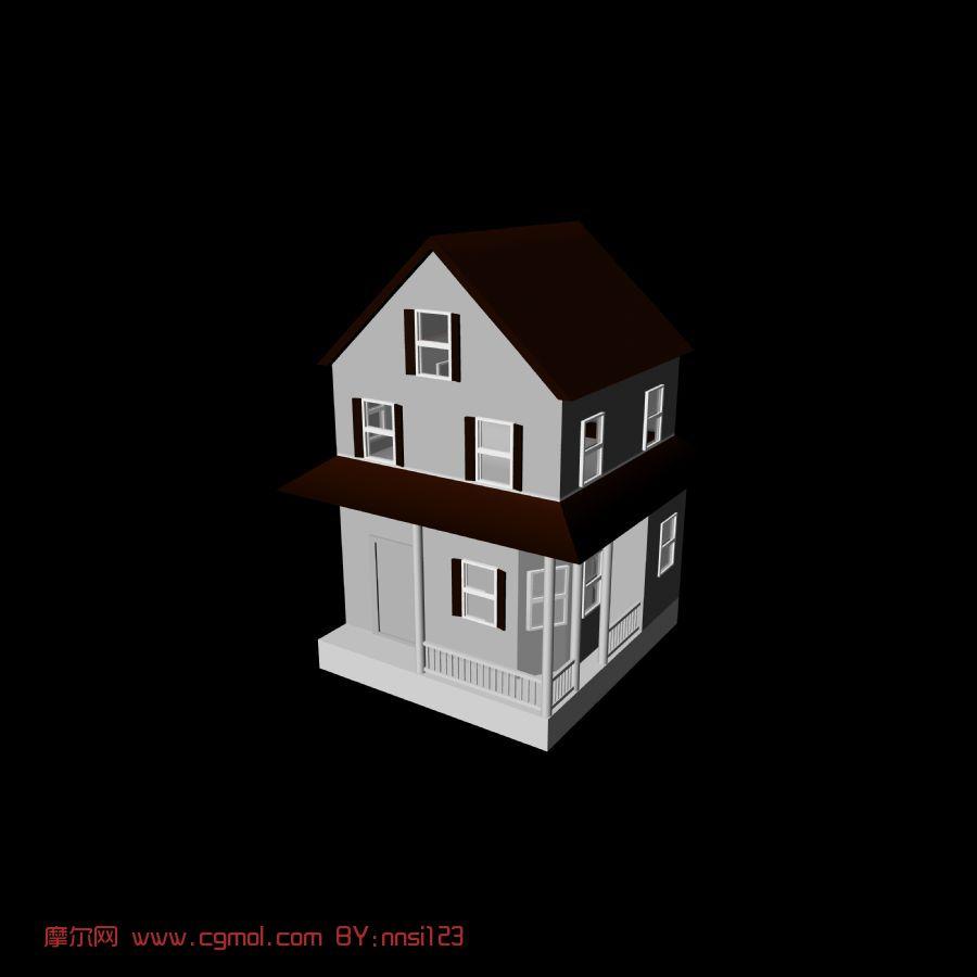 房子,建筑,室外场景max3d模型