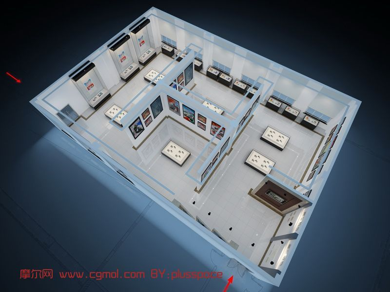 原��展�d�O��B瞰�D3D模型(�зN�D)