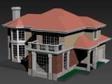 别墅,建筑,室外场景max3d模型
