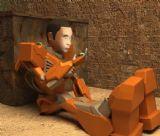 机器人阿不,机械角色max3d模型