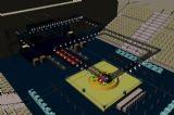 武术馆,擂台赛,体育场3D模型