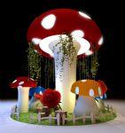 蘑菇中庭互动展max3d模型