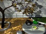 室外场景maya3d模型