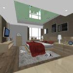 客厅,室内max3d模型