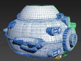 玩具飞船max3d模型