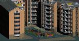 小区景观,建筑,室外场景max3d模型