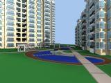 小区,建筑,室外场景max3d模型