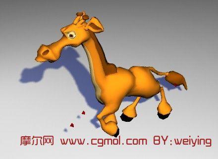 小马,卡懂动物maya3d模型