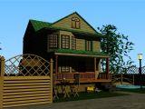房屋,别墅庭院,建筑场景3D模型