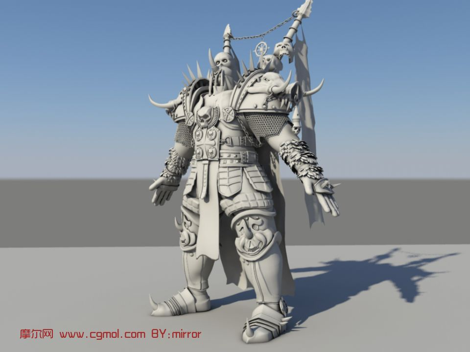 maya人物模型三视图 maya游戏场景模型 maya人物模型三高清图片