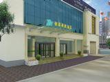 快捷酒店,建筑,室外场景max3d模型