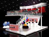 微软Microsoft展厅,建筑,室外场景max3d模型