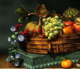 水果,景物场景maya3d模型