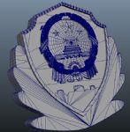 中华人民共和国国徽maya模型