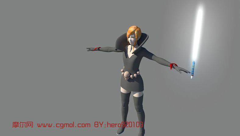 雾霾教主2代,游戏角色maya3d模型