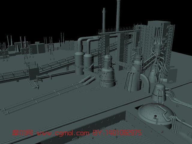 室外场景maya模型