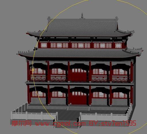 寺庙,房子,建筑,室外场景max3d模型