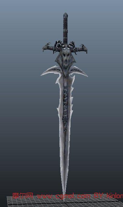 霜之哀伤剑maya模型