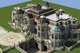 欧式大型别墅,住宅3D模型