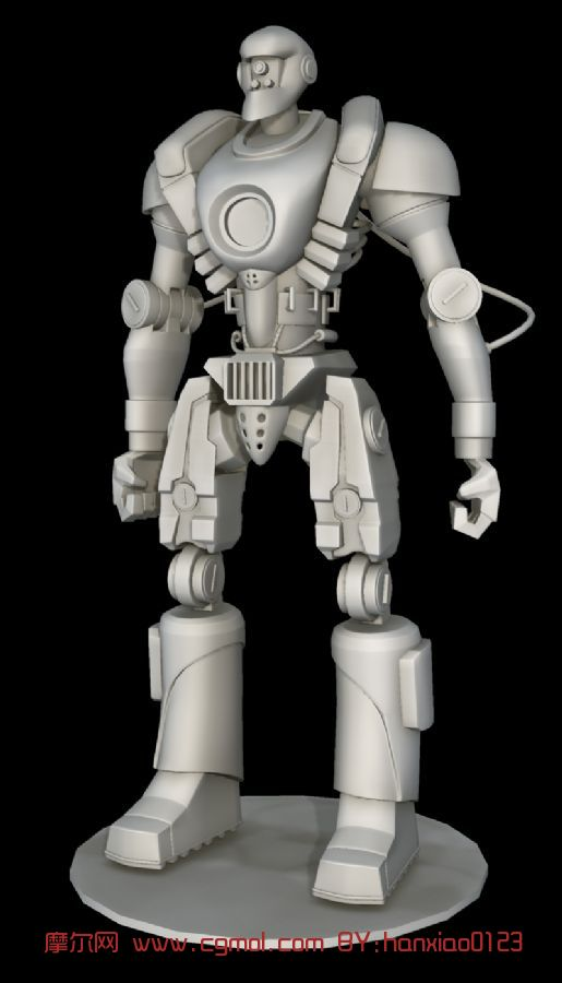 原创机器人素材,机器人maya3d模型
