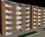 住宅,板式住宅3D模型