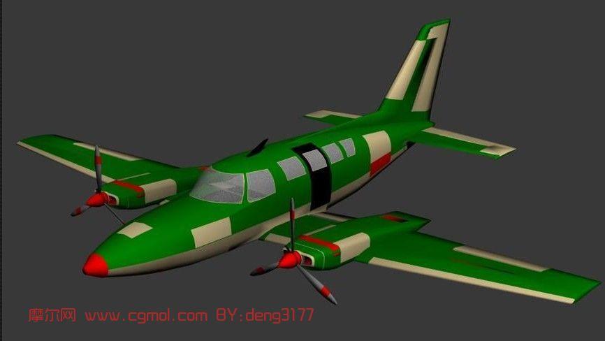 飞机max3d模型,飞行器