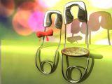 金属曲别针,卡通场景maya3d模型