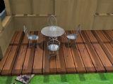 玻璃桌椅,室内家具max3d模型