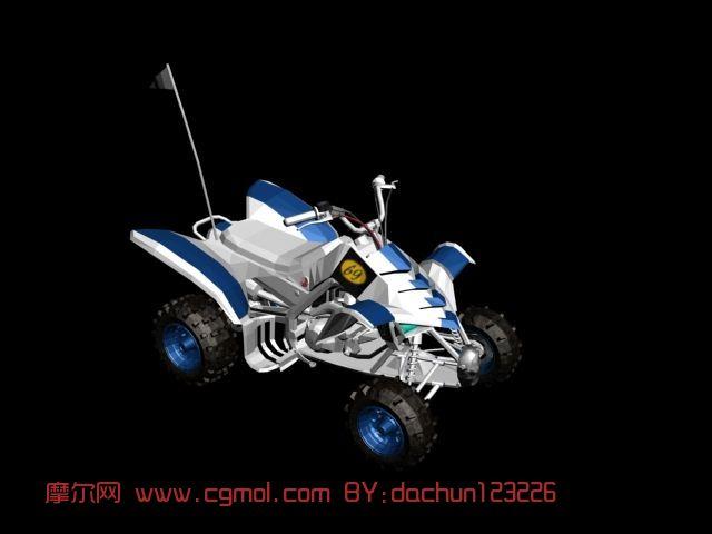野战车,摩托车,赛车max3d模型