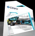 CENFO,展位,室外场景max模型