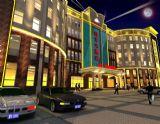 酒店,建筑,室外场景max模型