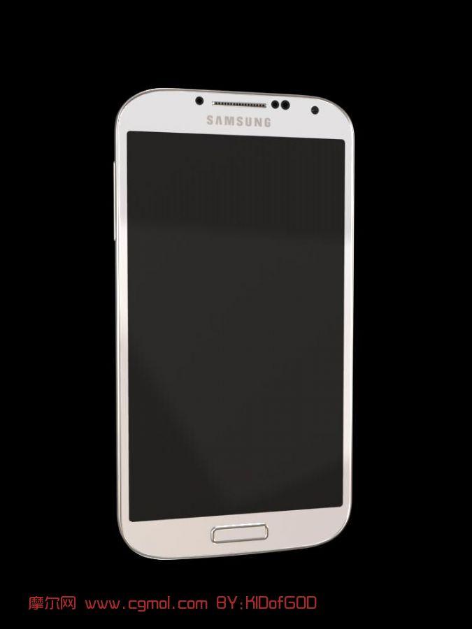 最新三星盖世S4手机模型(Sansung GALAXY S4)