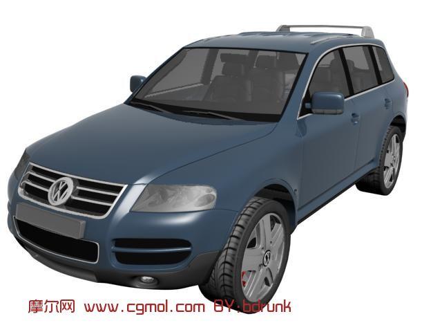 大众汽车,轿车max模型