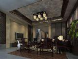 中式客厅,餐厅max模型