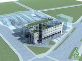 现代办公大楼max模型
