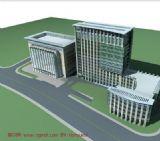 写字楼,医院新楼max模型
