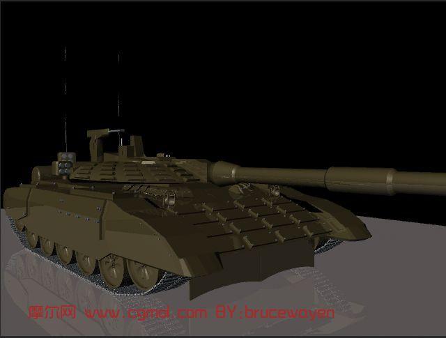 军事模型,坦克maya模型