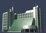 科技大楼,办公楼,现代建筑max模型